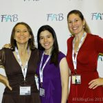 Homa Woodrum, Selena Bluntzer, and Jenny Sprague in Las Vegas