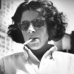 Fran Lebowitz and friend