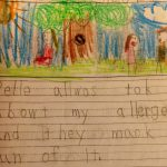 A Child's Eye View of Her Food Allergies