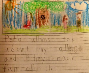 Caitlin Bostic, age 6 (now 7)
