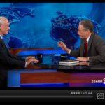 Dr. Martin Blaser with Jon Stewart