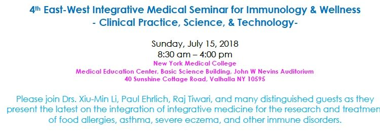 Conference on Integrative Medicine to Treat Allergies and Other Immune Diseases