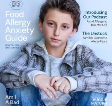 "Allergic Living ""Food Allergy Anxiety Guide"" —Essential Resource"